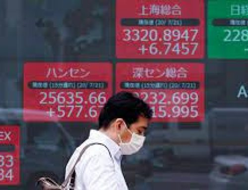 Asia stocks mixed; Evergrande shares jump following reports it will pay interest due on bond